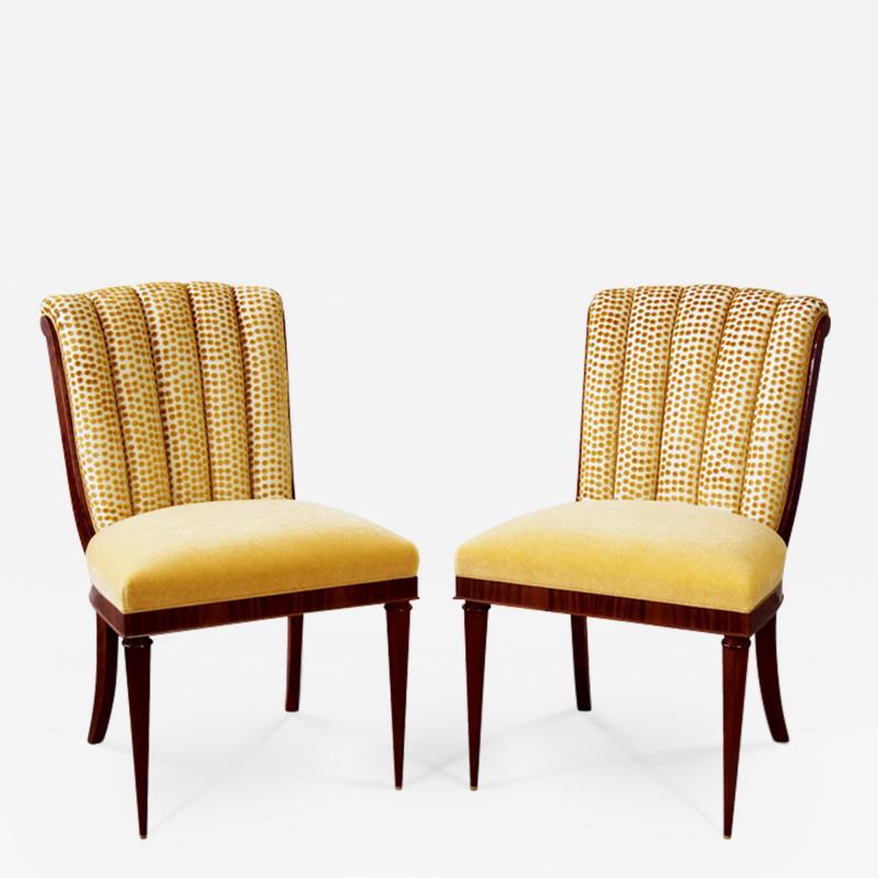 ILIAD DESIGN Scallop back side chairs by ILIAD Design