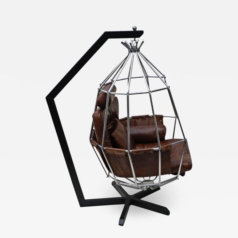 Ib Arberg Ib Arberg Hanging Parrot Mid Century Modern Chair