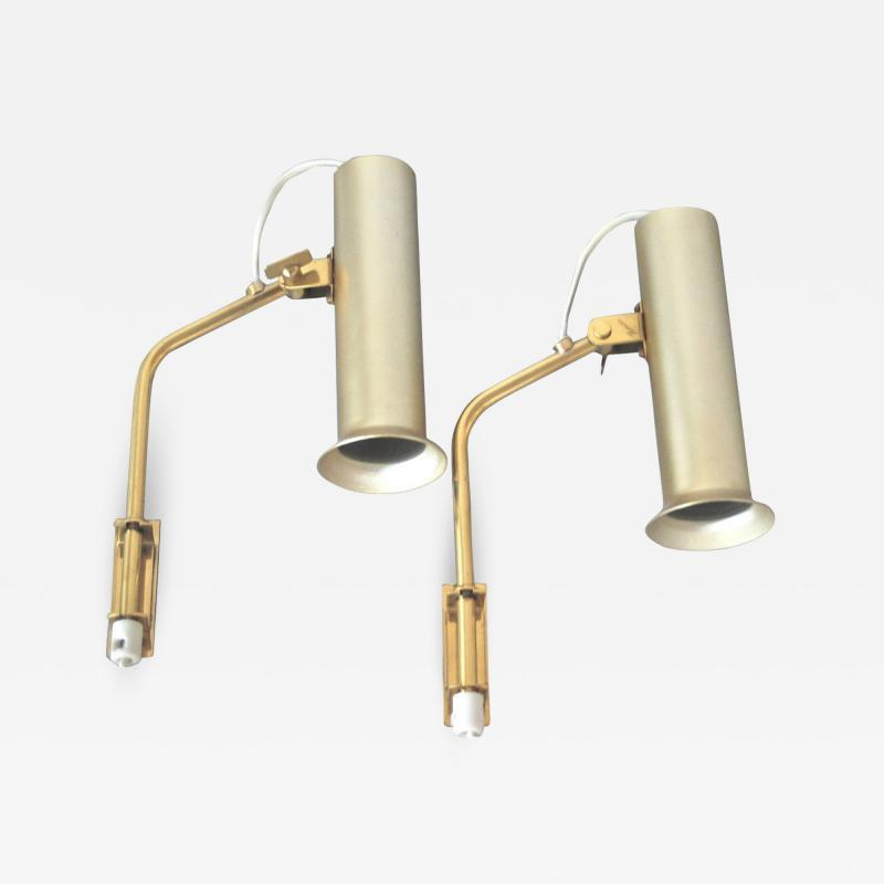 Idman Oy Pair of Wall Lamps by Idman