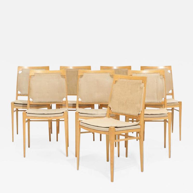 Illums Bolighus Eight Dining Chairs from Illum Bolighus