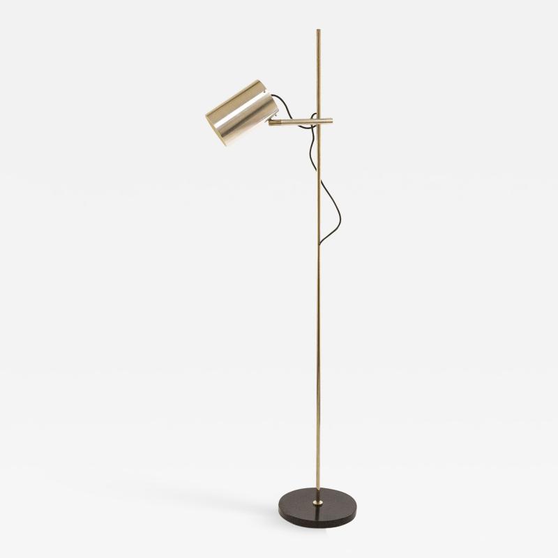 Indoor Floor lamp with one spot by Indoor lighting design attr 1970s