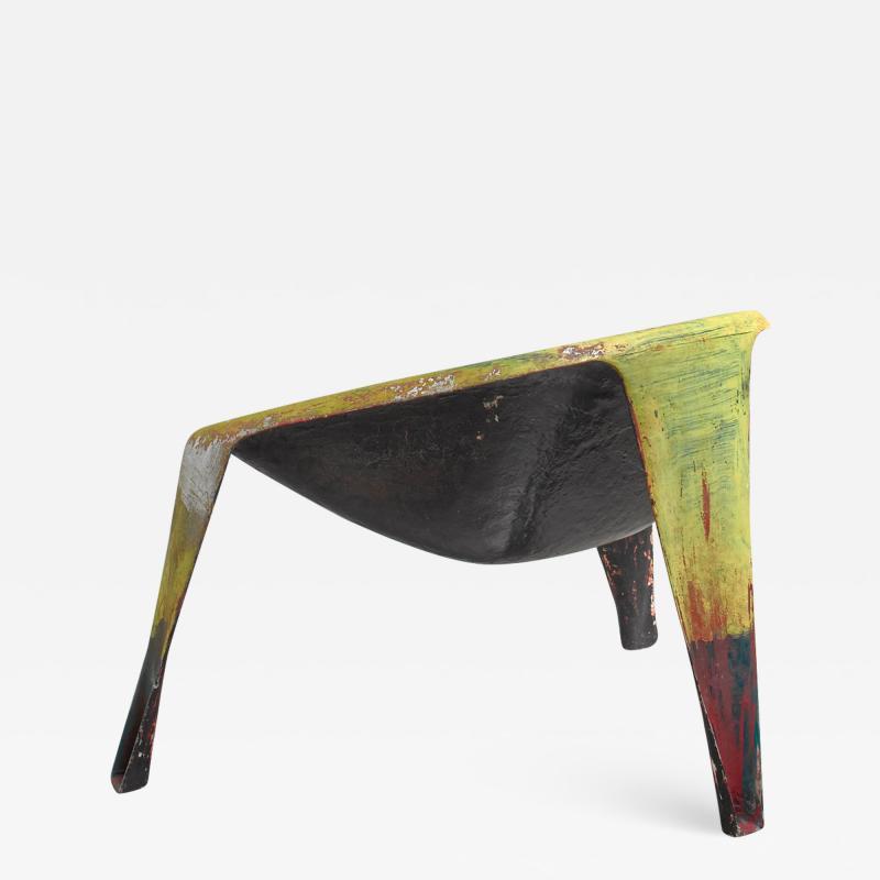 Ing G J Athmer Molded fiberglass prototype chair by Dutch architect Ing G J Athmer