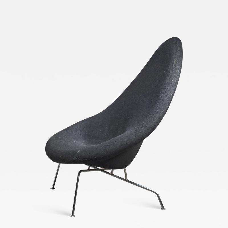 Ing G J Athmer Prototype lounge chair by Dutch architect Ing J G Athmer