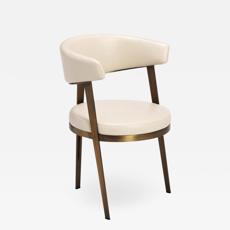 Interlude Home Adele Dining Chair Cream