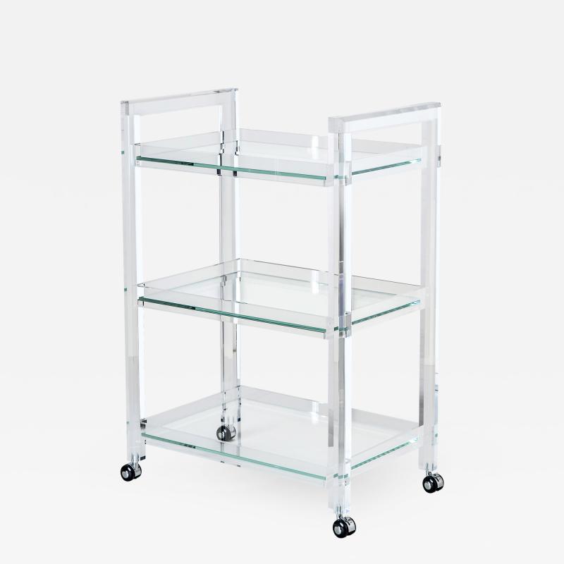 Interlude Home Ava Bar Cart