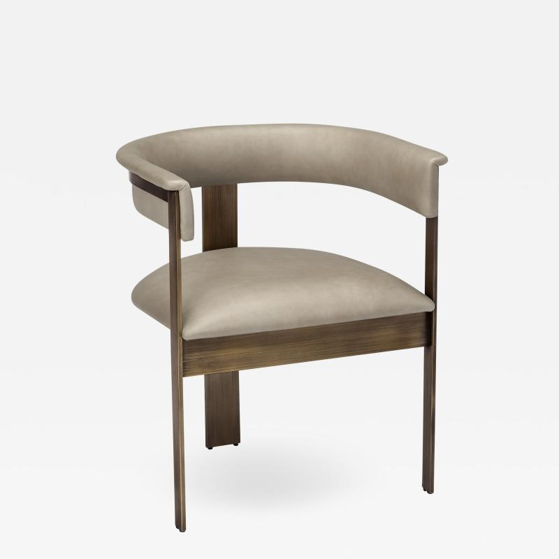 Interlude Home Darcy Dining Chair Taupe