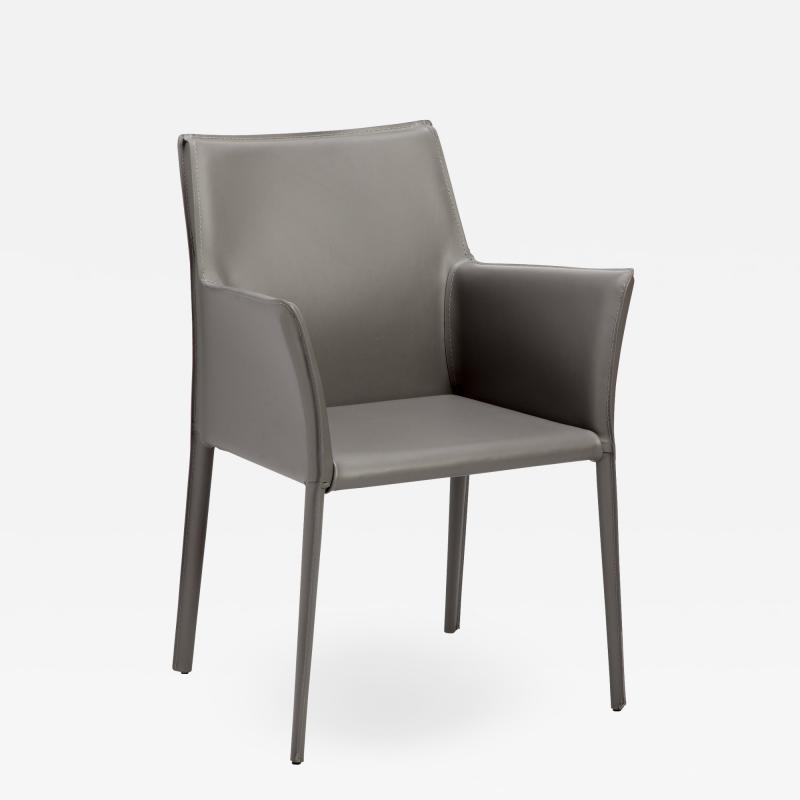 Interlude Home Jada Arm Chair Grey