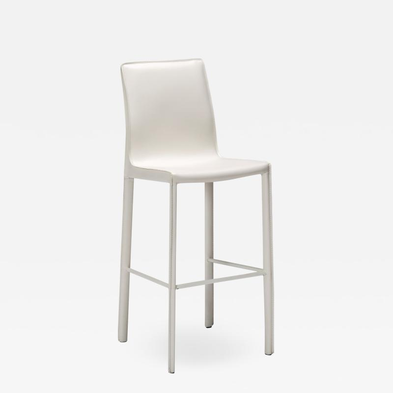Interlude Home Jada Barstool White