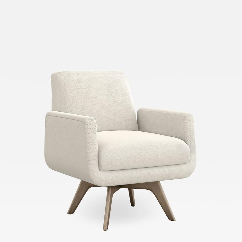 Interlude Home Landon Chair Pearl
