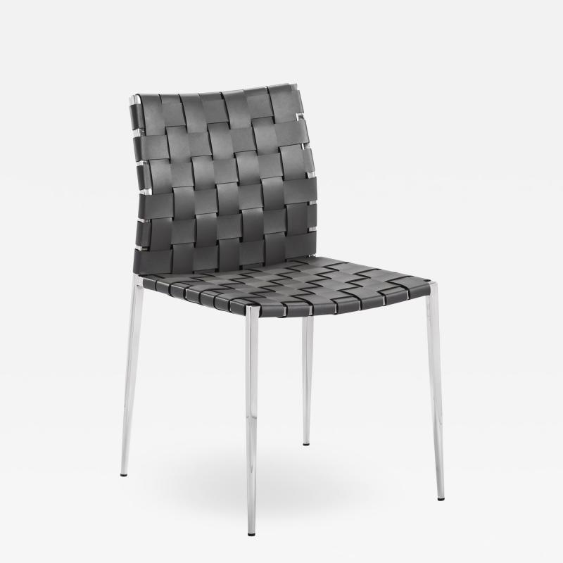Interlude Home Logan Dining Chair Grey