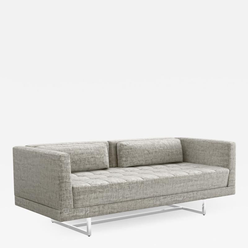Interlude Home Luca Loveseat Feather