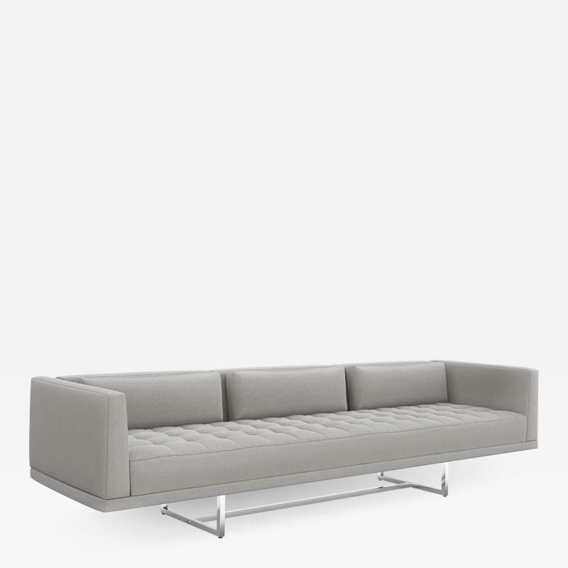 Interlude Home Luca Sofa Grey