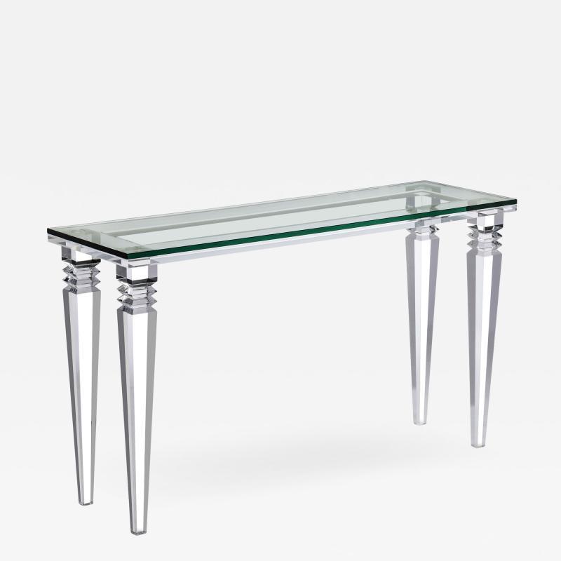Interlude Home Savannah Console Table