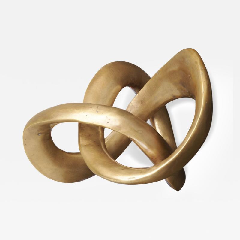 Interlude Home Trefoil Knot Sculpture