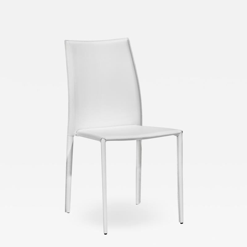 Interlude Home Van Stacking Chair White