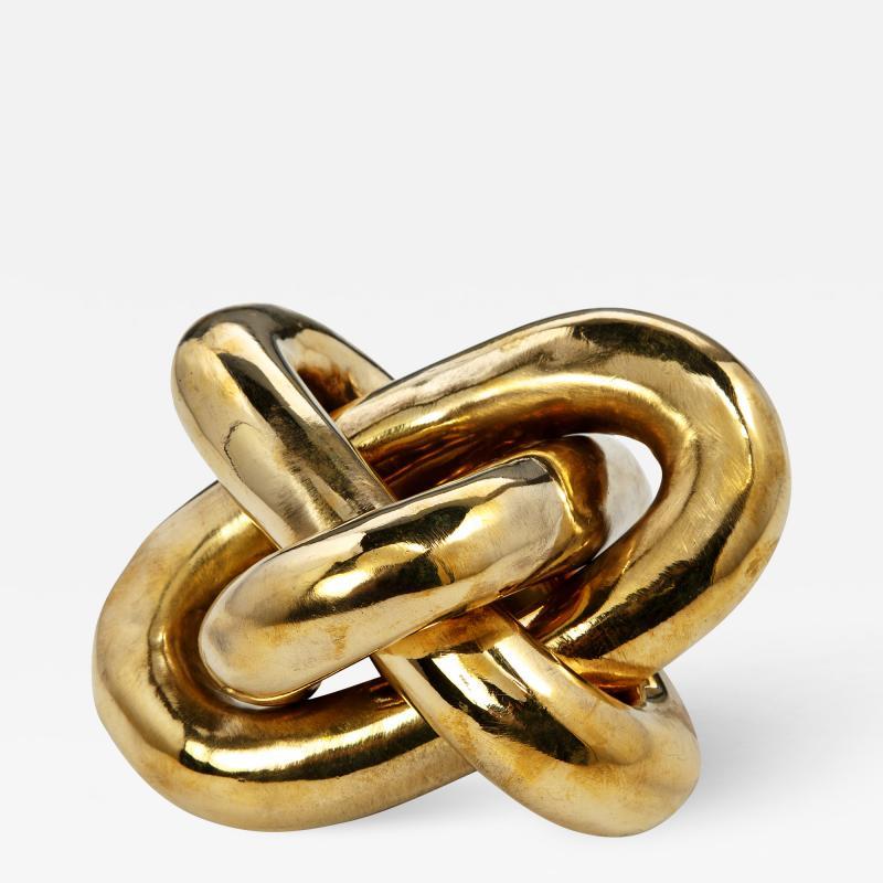 Interlude Home Wynn Knot Brass