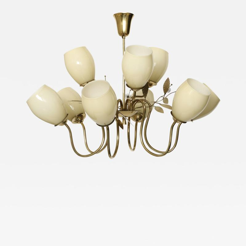 Itsu Paavo Tynell style chandelier by Itsu