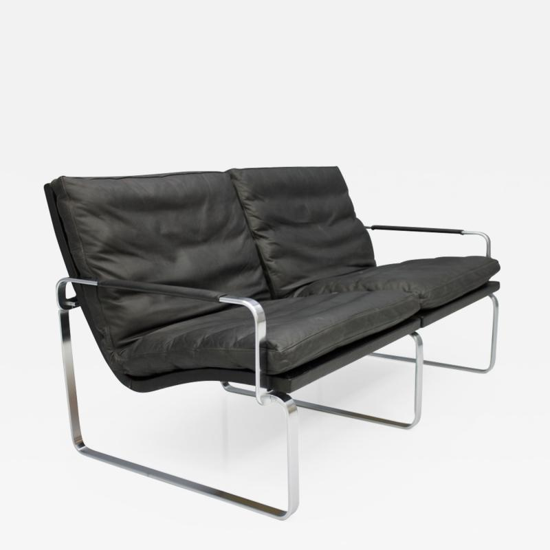 J rgen Lund Ole Larsen Two Person Sofa by J rgen Lund Ole Larsen for Bo Ex Denmark 1960s