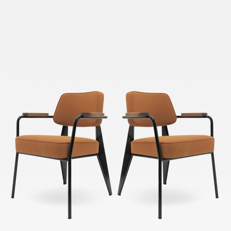 Jean Prouv Re Editions Vitra Fauteuil Direction by Jean Prouv
