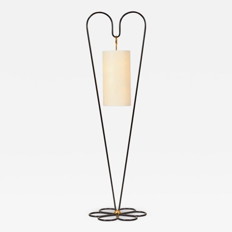 Jean Roy re Re Edition COEUR floor lamp by Jean Roy re