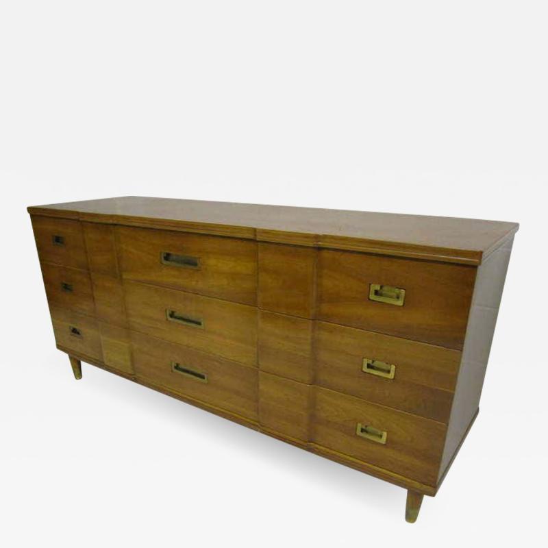 John Widdicomb Co Widdicomb Furniture Co Gorgeous John Widdicomb Asian Influenced Credenza Mid Century Modern