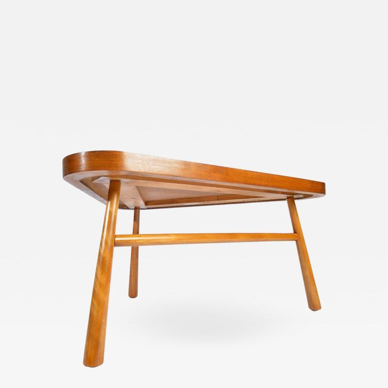 John Widdicomb Co Widdicomb Furniture Co T H Robsjohn Gibbings for Widdicomb Triangular Cocktail Table