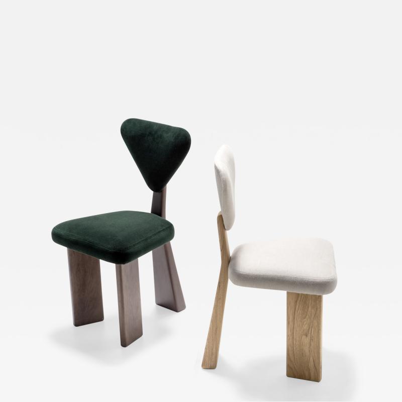 Juliana Lima Vasconcellos Studio Giraffe Dining chair by Juliana Lima Vasconcellos in solid wood