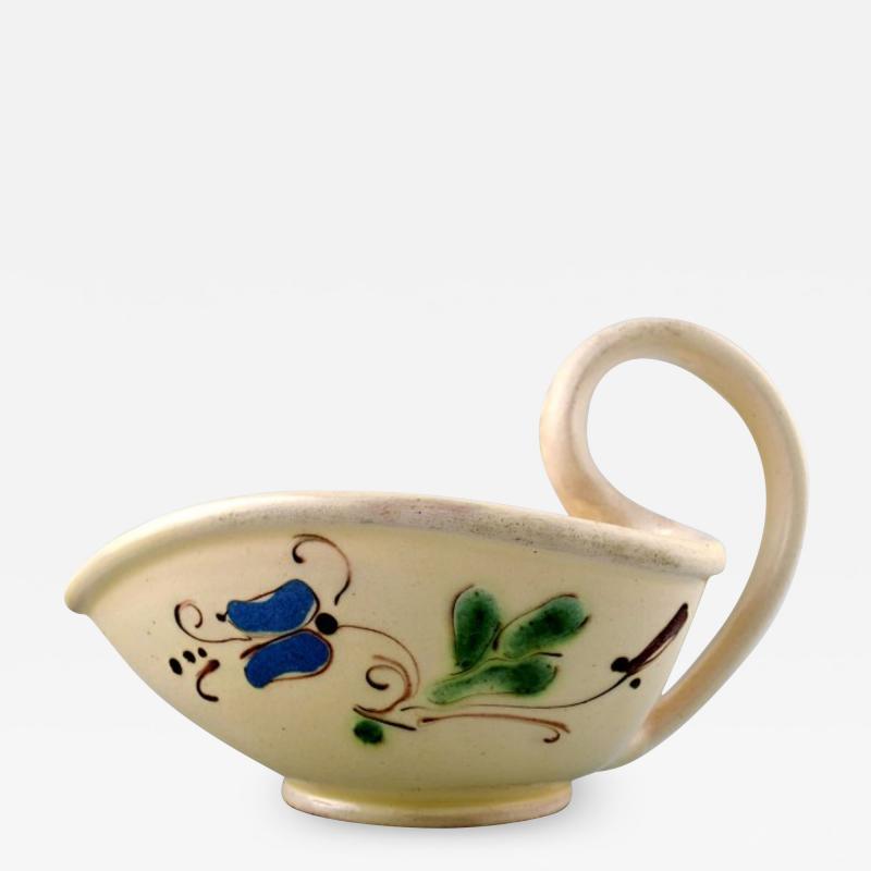 K hler Glazed stoneware jug with handle