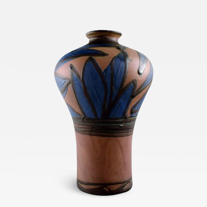 K hler K hler HAK glazed stoneware vase in modern design