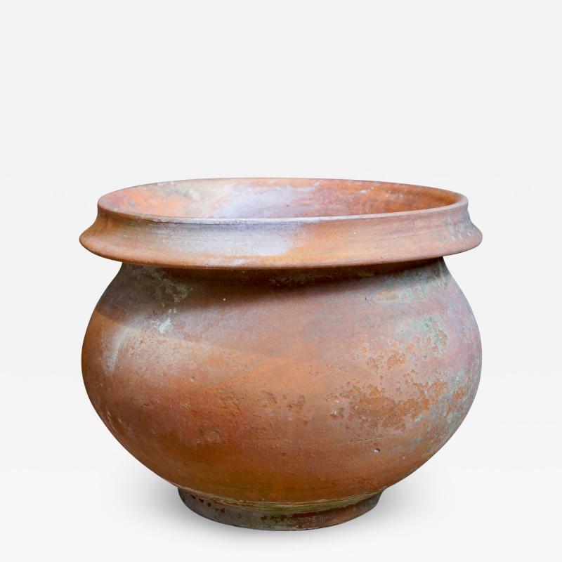 K hler Monumental vase with rustic texture by K hler Keramik