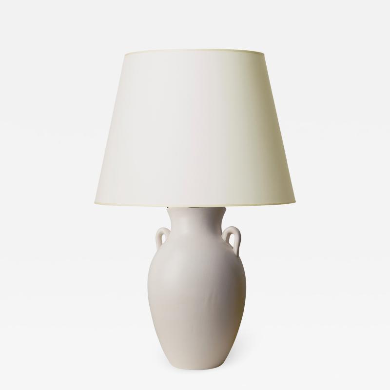 K ramos Amphora Form Table Lamp by Keramos
