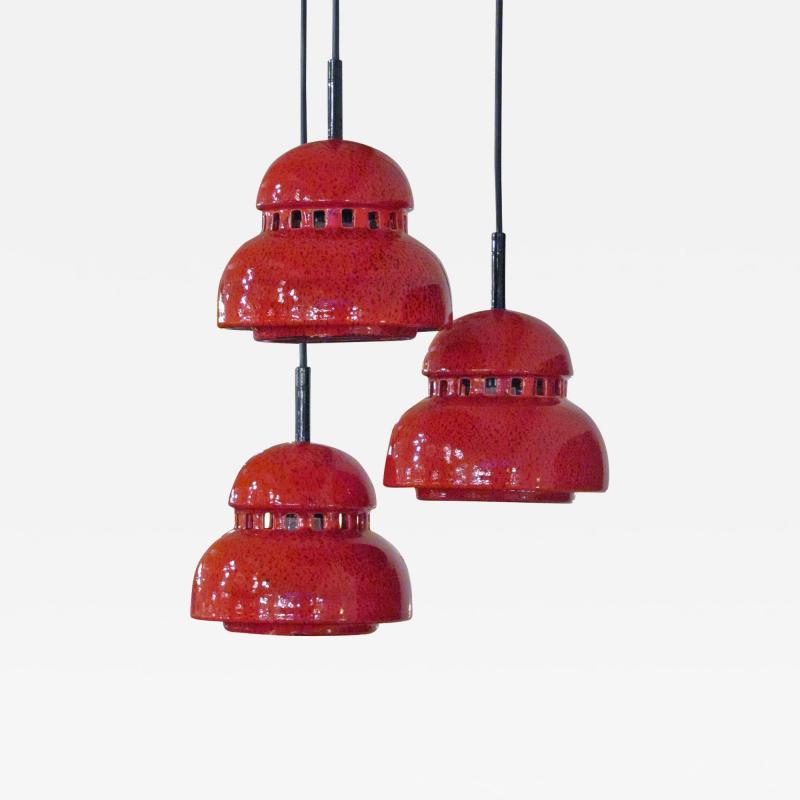 Kaiser Leuchten Ceramic Chandelier by Kaiser Leuchten
