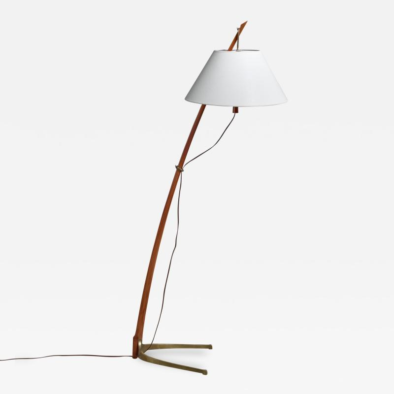 Kalmar Lighting Kalmar Dornstab floor lamp Austria 1940s