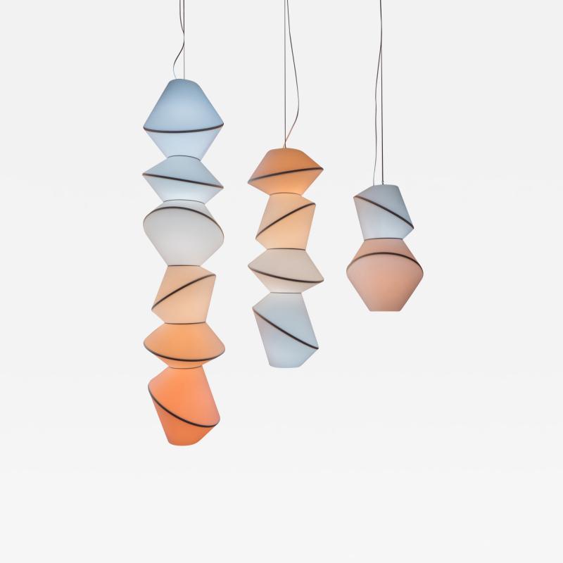 Karhof Trotereau KELVIN Totem lamps single lights or light installation