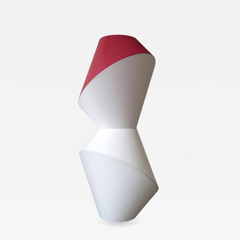 Karhof Trotereau TOTEM lamp floor version with red