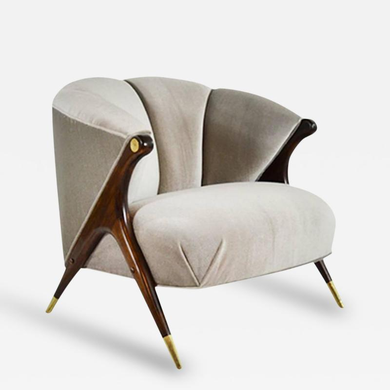 Karpen of California Modernist Lounge Chair by Karpen of California