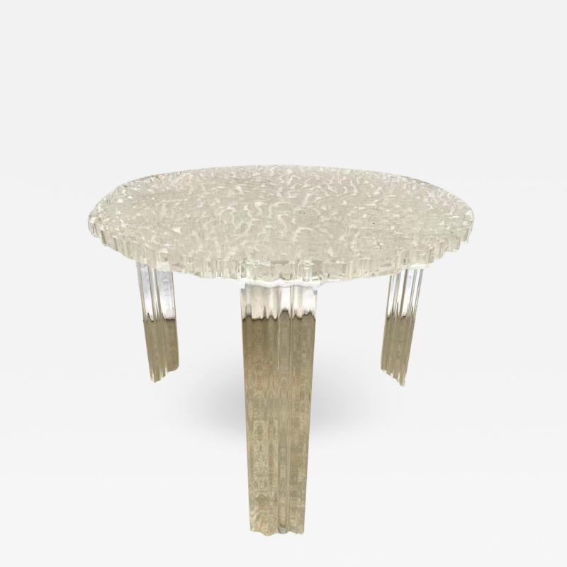 Kartell Patricia Urquiola T Table Lucite Table Model 8501 for Kartell Italy 2001