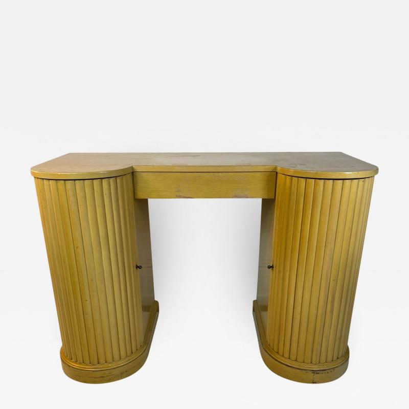Kittinger Furniture Co ART DECO VANITY AND MIRROR BY KITTINGER