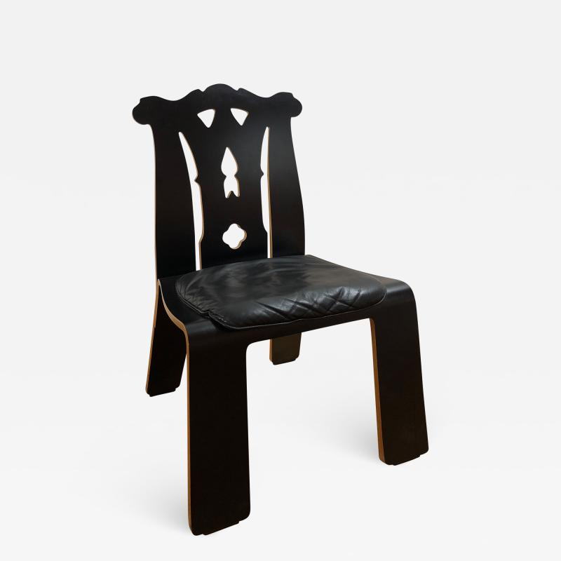 Knoll International Chippendale chairs by Robert Venturi set of 6 x
