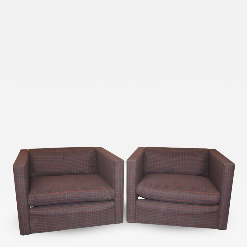 Knoll International Knoll Lounge Chairs by Charles Pfister