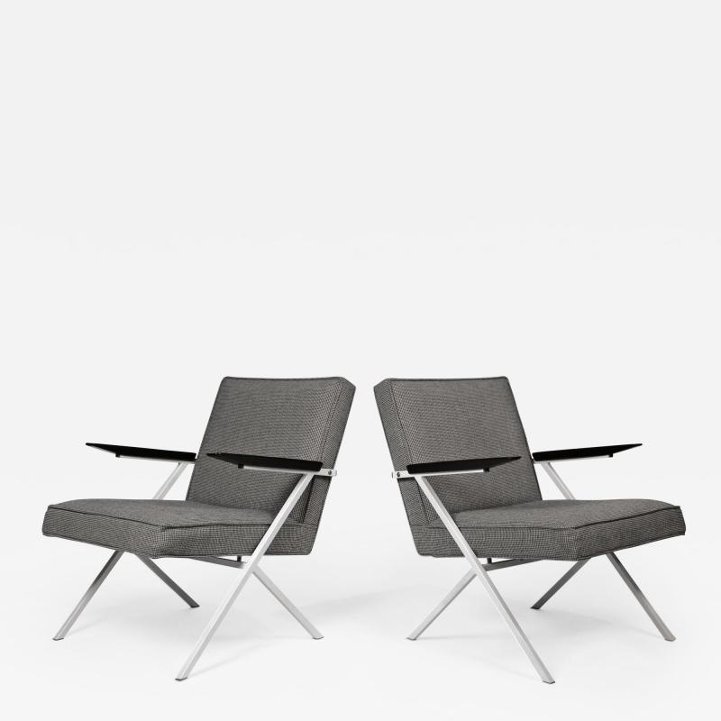 Knoll International Ladislav Rado Cantilevered Lounge Chairs for Knoll and Drake 1950s