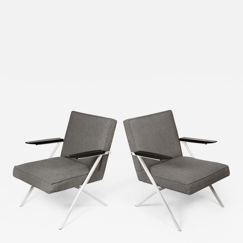 Knoll International Ladislav Rado Cantilevered Lounge Chairs for Knoll and Drake 1950s