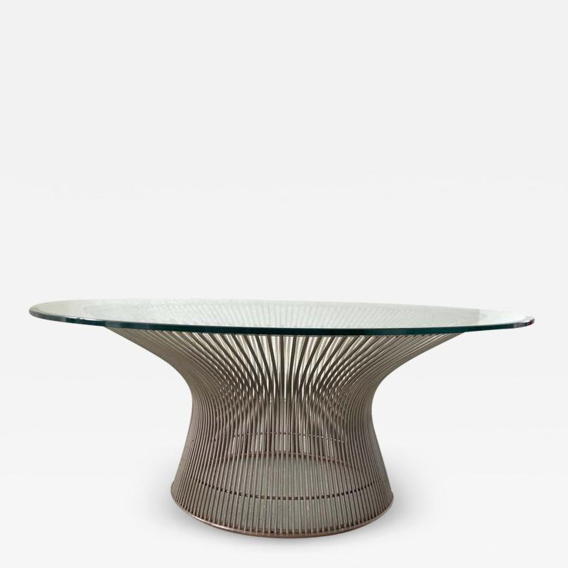 Knoll Warren Platner Wire Coffee or Cocktail Table for Knoll USA 1966