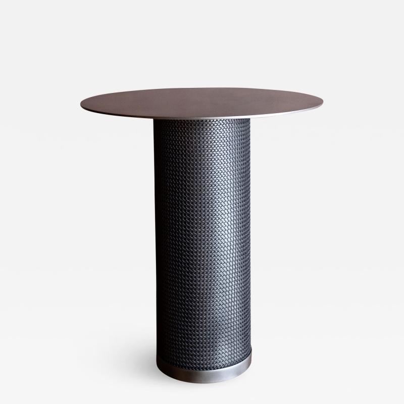 Konekt Armor Cylinder Side Table