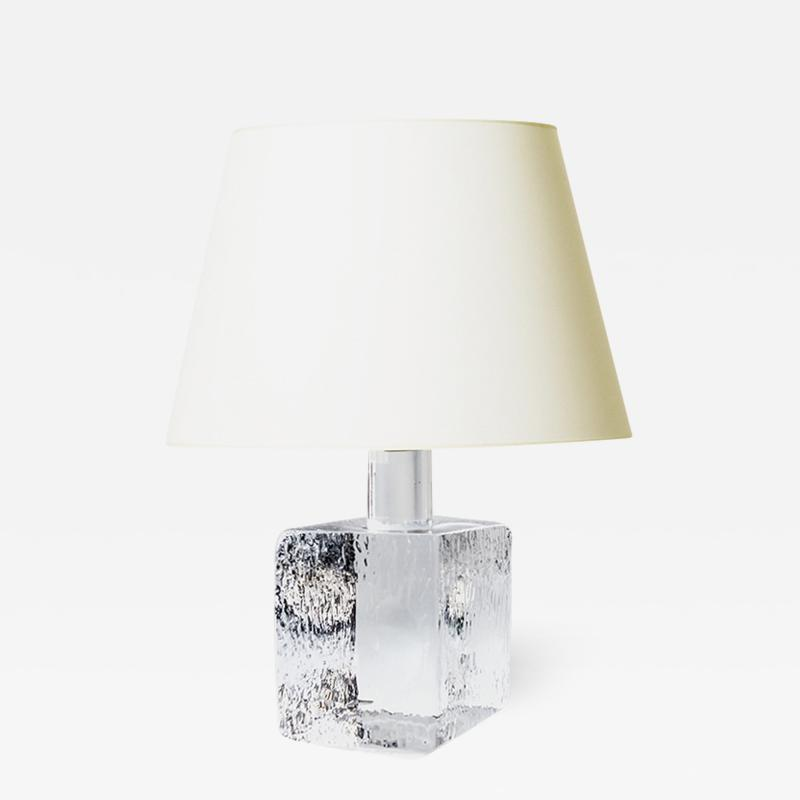 Kosta Boda AB Mod Crystal Lamp by Karl Bengt Eug n Edenfalk for Kosta