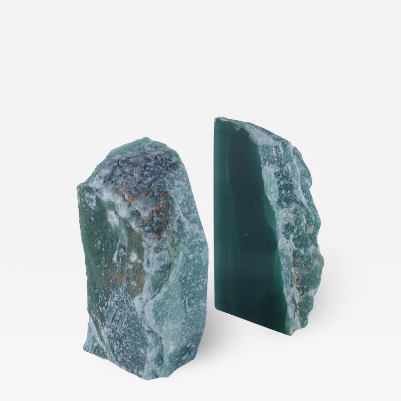 Kravet Inc Matheus Green Quartz Bookends