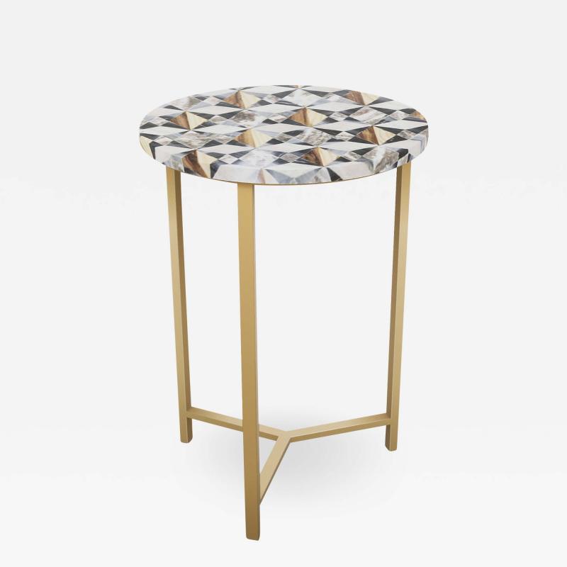 Kravet Inc Myrtle Table Tri Leg