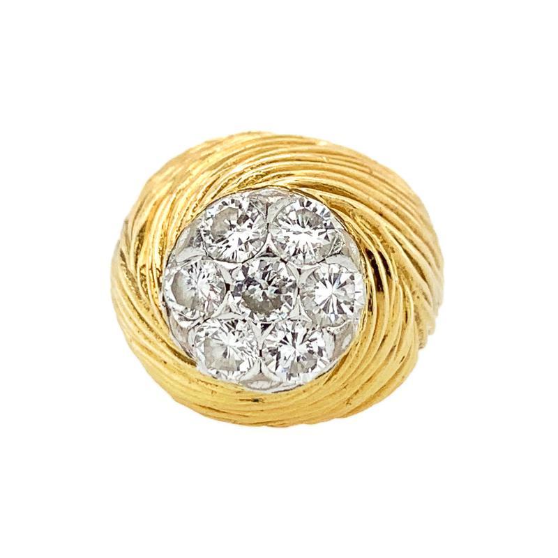 Kutchinsky Kutchinsky DIamond Cocktail Ring