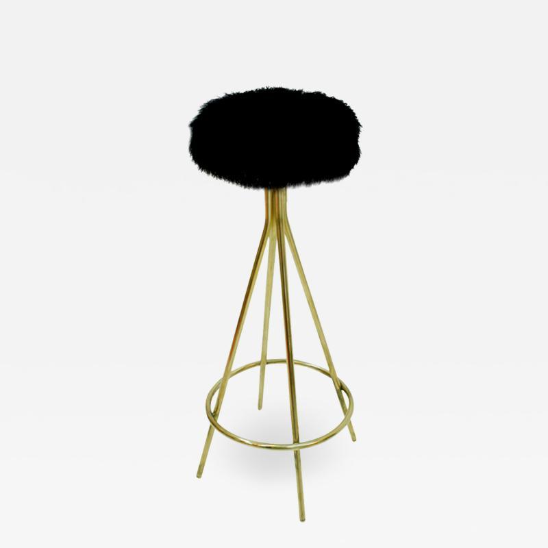 L A Studio Mid Century Modern Style Italian Stools