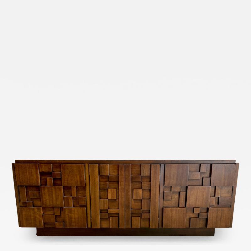 Lane Furniture American Modern Mahogany Dresser Lane